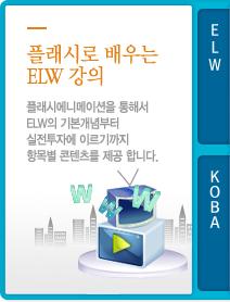 플래시로 배우는 ELW 강의